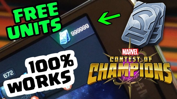 MARVEL Contest of Champions Hack Cheats Unlimited Golds & Units